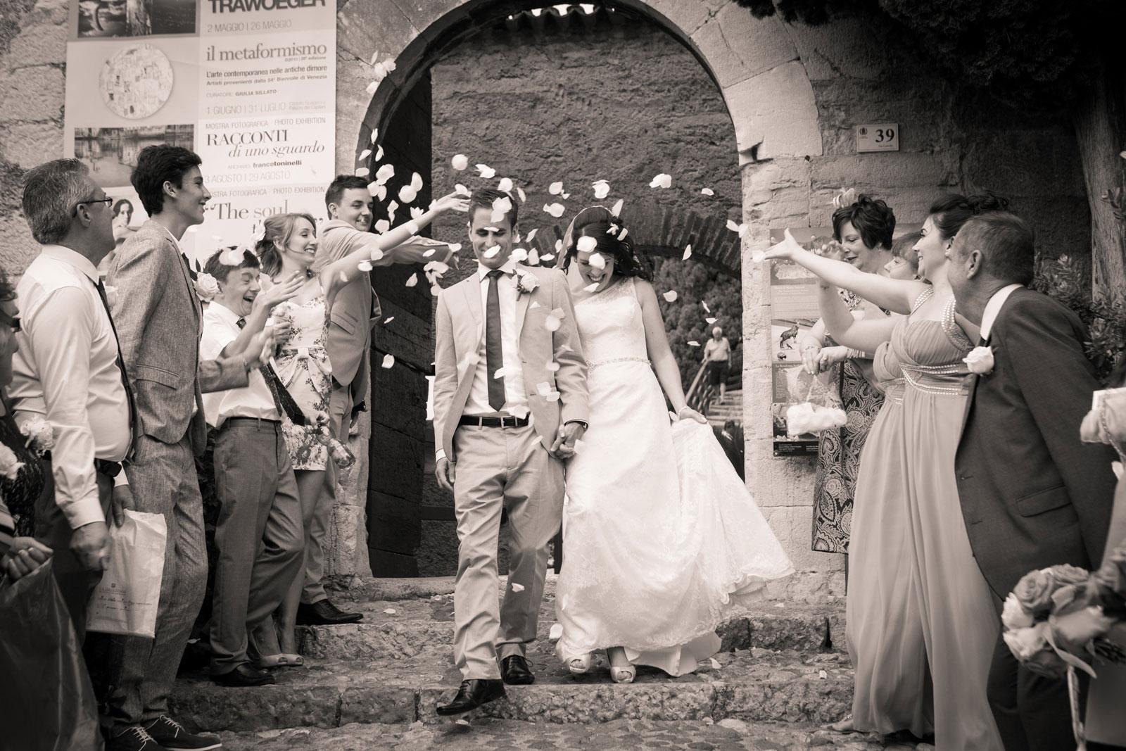 Wedding Malcesine Faye & Jason