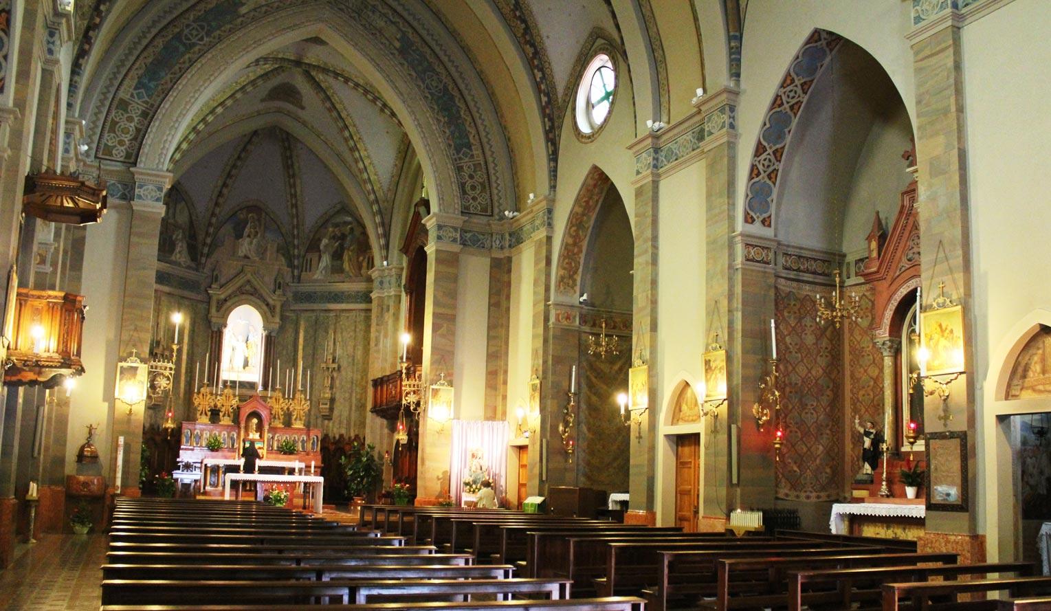 Italian Church Weddings • Castelletto Church in Italy