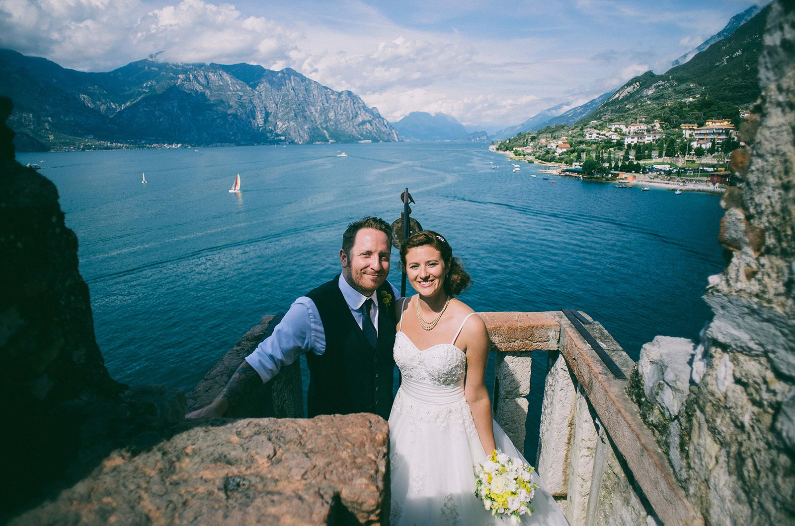 Weddings Malcesine Castle GardaLake